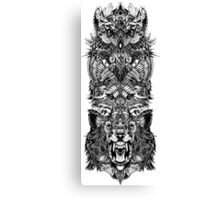 Animal Totem Canvas Print