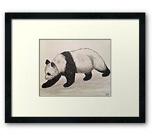 The Panda Framed Print