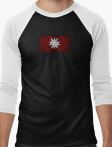 The Expanse - Martian Flag - Dirty Men's Baseball ¾ T-Shirt