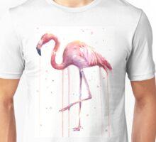 Watercolor Flamingo  Unisex T-Shirt