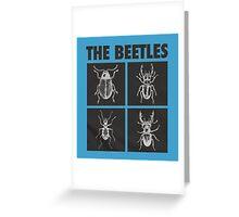 the beetles Greeting Card