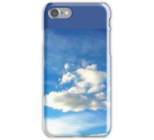 Single Cloud Sky iPhone Case/Skin