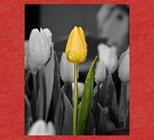 Tulip - Attempt in Selective Colouring Tri-blend T-Shirt