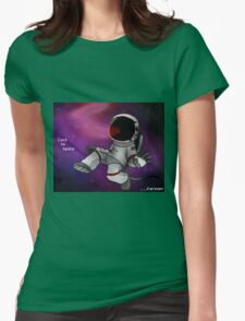 Lost In Space...Forever Womens Fitted T-Shirt