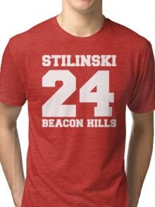 Stilinski 24 - Beacon Hills Tri-blend T-Shirt