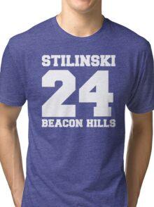 Stilinski 24 - Beacon Hills Tri-blend T-Shirt