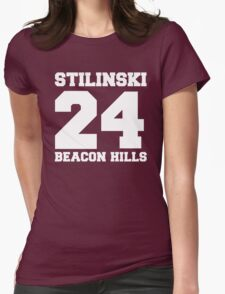 Stilinski 24 - Beacon Hills Womens Fitted T-Shirt