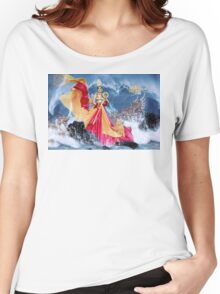 Beautiful woman Women's Relaxed Fit T-Shirt