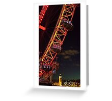 The icons of London Greeting Card