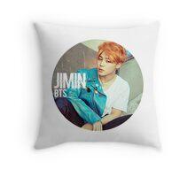 Circle Jimin Throw Pillow