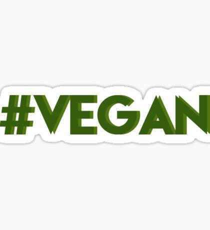 #vegan Sticker
