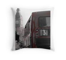 London travel Throw Pillow