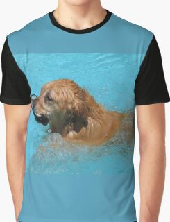 Darcy Swimming Graphic T-Shirt