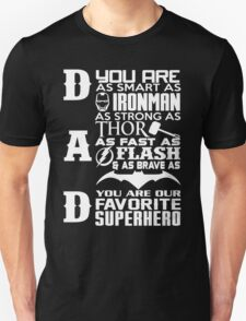 Dad - superhero T-Shirt