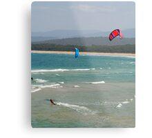 Wind Surfers Merimbula New South Wales Metal Print