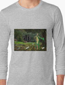 Beautiful woman Long Sleeve T-Shirt