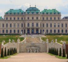 Oberes Belvedere, Vienna Austria Sticker