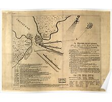 American Revolutionary War Era Maps 1750-1786 260 A Representation of the sea fight on the 5th of Sepr 1781 between Rear Admiral Graves and the Count de Poster