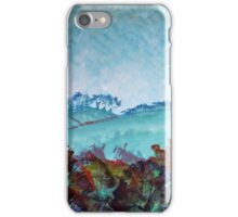Devon Landscape Painting - The Gloomy Sky iPhone Case/Skin