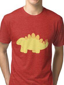 little yellow stegosaurus! :) Tri-blend T-Shirt