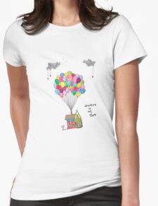 Up, Adventure is out there, travel T-Shirt