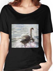 Mute Swan Women's Relaxed Fit T-Shirt