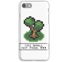 Tshirt Shall not Pass iPhone Case/Skin