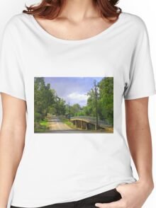 Country Road in Auburn Women's Relaxed Fit T-Shirt