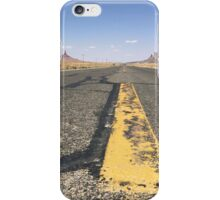 The Road to the Desert iPhone Case/Skin