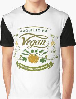 Proud to be Vegan Graphic T-Shirt