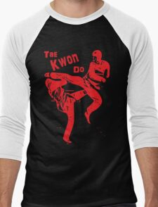 TKD - Red Men's Baseball ¾ T-Shirt