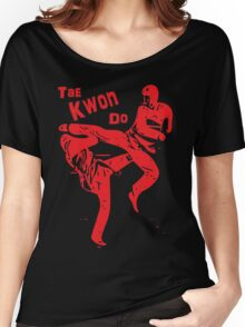 TKD - Red Women's Relaxed Fit T-Shirt