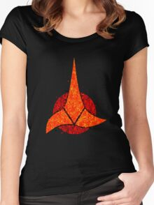 Star Trek - Klingon Emblem Women's Fitted Scoop T-Shirt