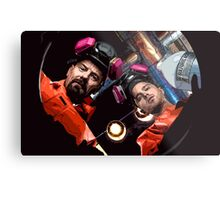 Walter & Jesse are cooking Metal Print