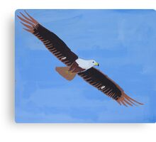 'African Fish Eagle' by Luke Becker (2016) Canvas Print
