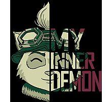 My inner demon Photographic Print
