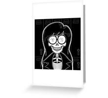 Daria (Stack's Skull Sunday) Greeting Card