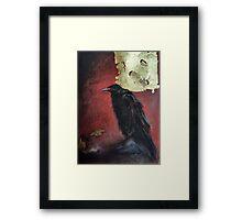 The raven king Framed Print