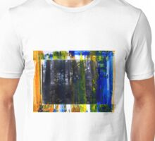 Colored Forest - Original Wall Modern Abstract Art Painting Unisex T-Shirt