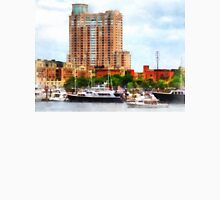 Boats at Inner Harbor Baltimore MD Unisex T-Shirt