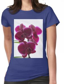 Dark orchid Womens Fitted T-Shirt