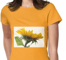I'm not giving up on Love - Sunflower Womens Fitted T-Shirt