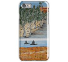Four Birds in Four Desert Scenes iPhone Case/Skin