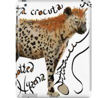Spotted Hyaena iPad Case/Skin