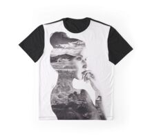 Double Exposure Graphic T-Shirt