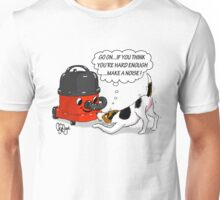 Jack Russell Terrier 'Guarding' Vacuum Cleaner Unisex T-Shirt