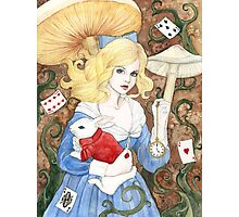 Alice In Wonderland Photographic Print