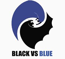 Black vs Blue 2 Unisex T-Shirt