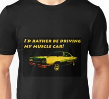 Driving My Muscle Car Unisex T-Shirt