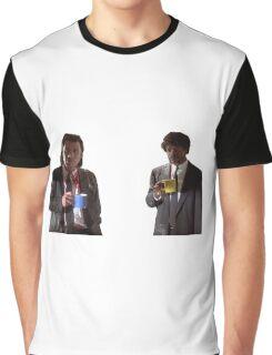 Vincent And Jules Pulp Fiction Graphic T-Shirt